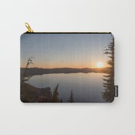 Sunrise at Crater Lake Carry-All Pouch