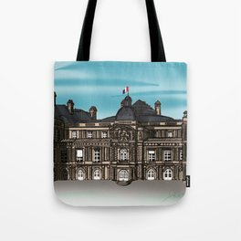 Le Sénat de Paris Tote Bag