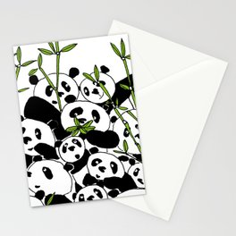 A Pandemonium of Pandas  Stationery Cards