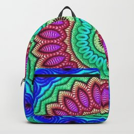 Lotus Flower Mandala Backpack