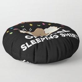 Rhea Name Gift Sleeping Shirt Sleep Napping Floor Pillow