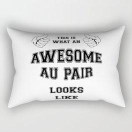 AWESOME AU PAIR Rectangular Pillow