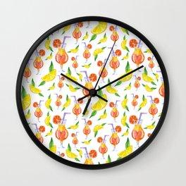 """Tropical vibes"" Wall Clock"
