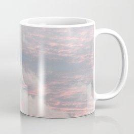 Cloud layers of Pink Coffee Mug
