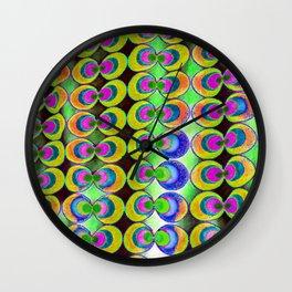 Pop art fabric Wall Clock