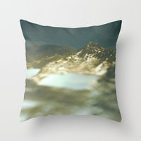 paradise Throw Pillows featuring Paradise by DejaReve