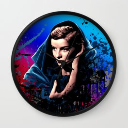 Katharine Hepburn, 60 years of drama. Wall Clock