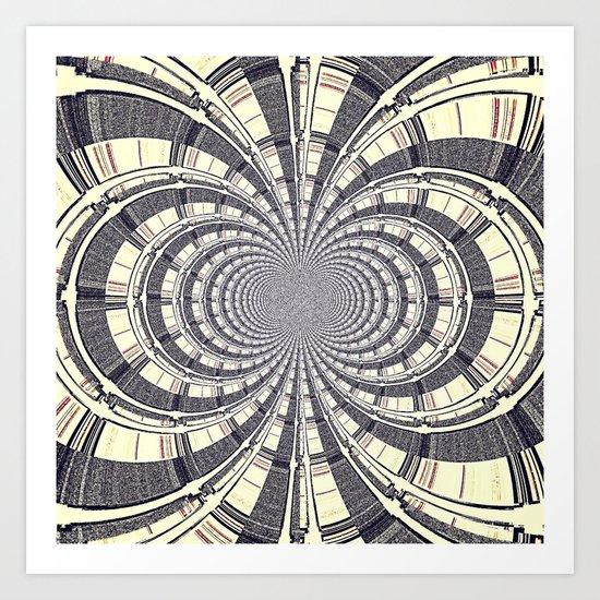 KALEIDOSCOPIQUE Art Print