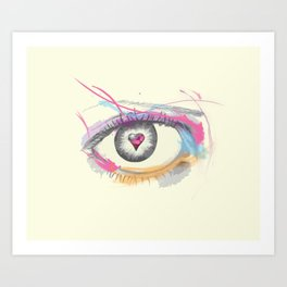 Techni Art Print