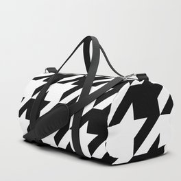 Houndstooth Pattern 12x12 Duffle Bag