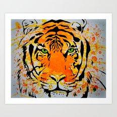 Tiger Too Art Print