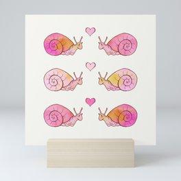 Snails Mini Art Print