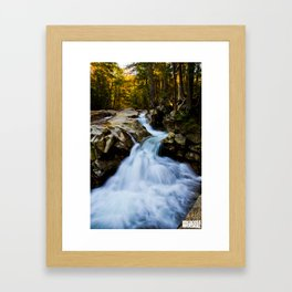 Franconia Flow Framed Art Print