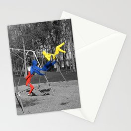 Free Spirits in Spandex - Color Pop Stationery Cards