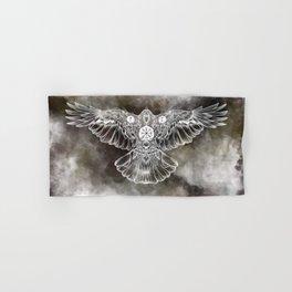 Raven of Fate (colore) Hand & Bath Towel