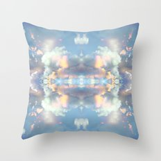 Pastel Sky Throw Pillow