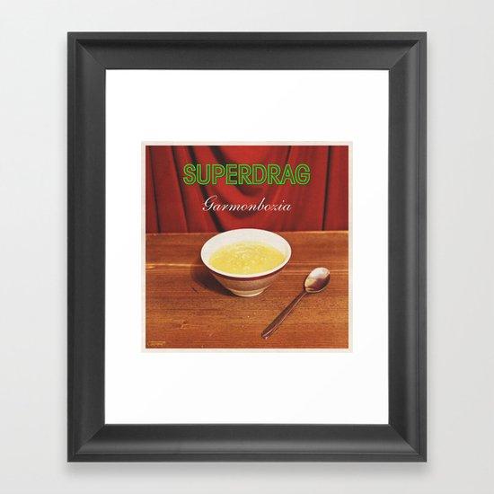 7 inch series: Superdrag - Garmonbozia Framed Art Print