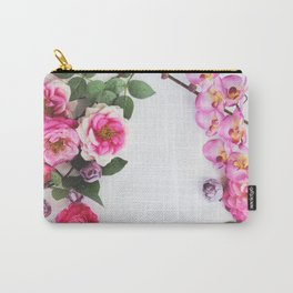 florals #society6 #decor #buyart Carry-All Pouch