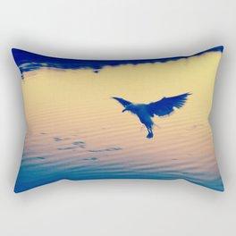 I Love You Seagull Rectangular Pillow
