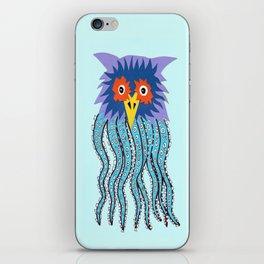 the owl of cthulu iPhone Skin
