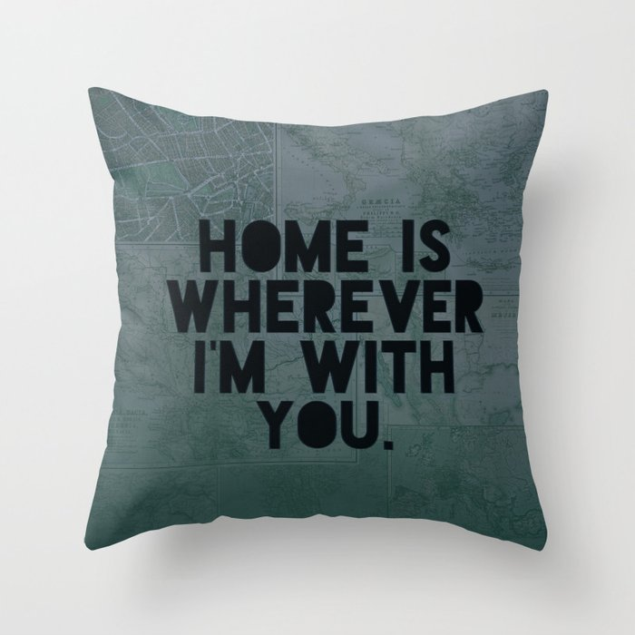 With You II Throw Pillow by floresimagespdx