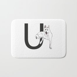 U is for Utonagan Bath Mat