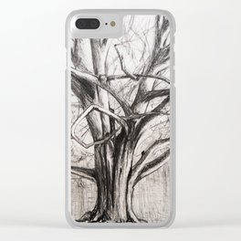 Tree in the Park Clear iPhone Case