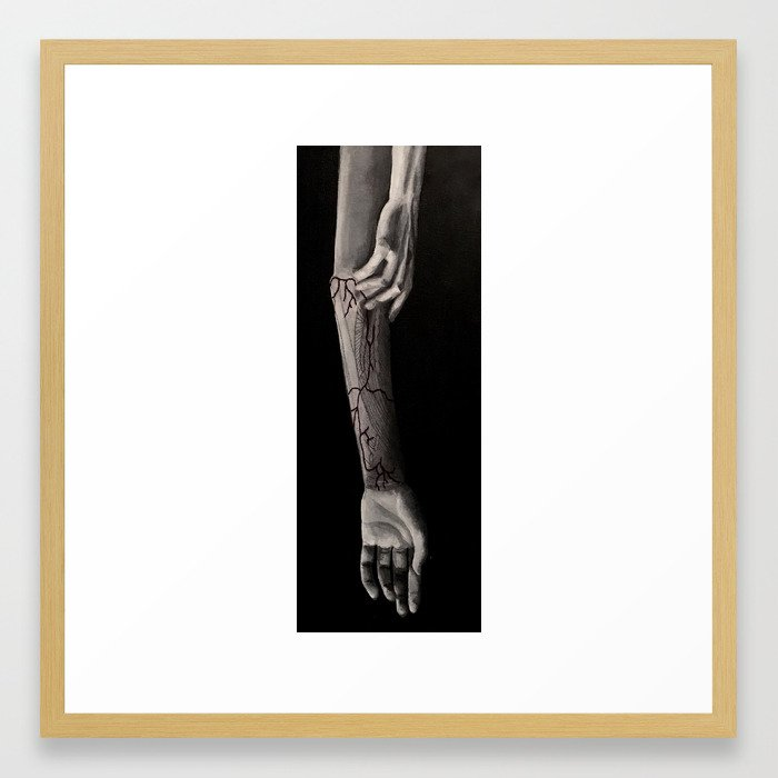 Lifeblood Framed Art Print