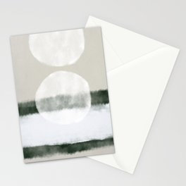 Moon reflections Stationery Cards