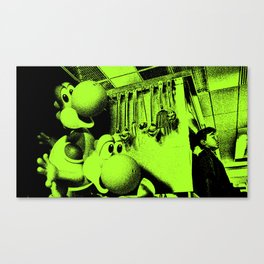 Clever Yoshis Canvas Print
