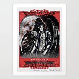 Wings of Faith : Punisher Art Print