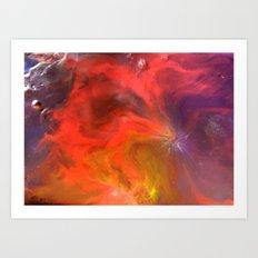 Eros Pool  Art Print