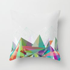Colorflash 7 Throw Pillow