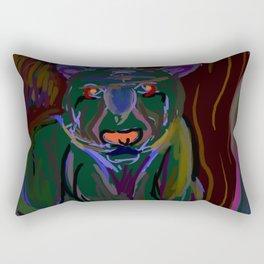 tiger green Rectangular Pillow