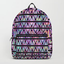 Geometric Glossy Pattern G330 Backpack