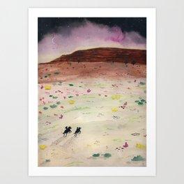 The Wild Ride Art Print