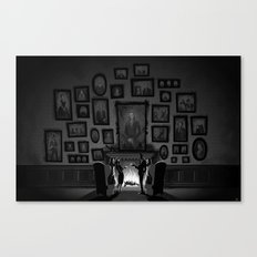 The Walls Have Eyes Canvas Print