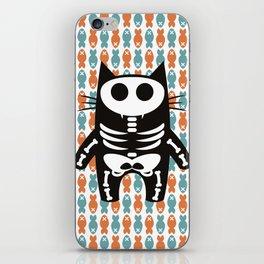 Meow Skeleton iPhone Skin