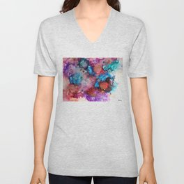 Ink colorful II Unisex V-Neck