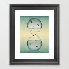 Goldfish Infinity Framed Art Print