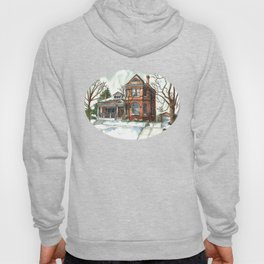 Victorian House in The Avenues Hoody