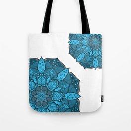 Blue Mandala design, Mandala texture, Simple design Tote Bag