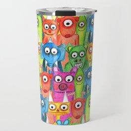 hi hi hi  Travel Mug