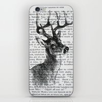 irish iPhone & iPod Skins featuring Irish Deer by CrowBiz