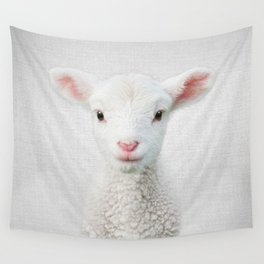 Lamb - Colorful Wall Tapestry