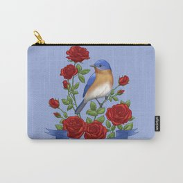 New York State Bird and Flower Carry-All Pouch