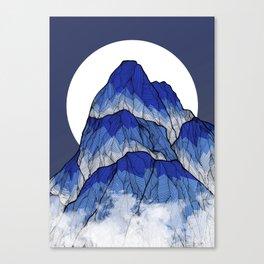 The highest peak Canvas Print