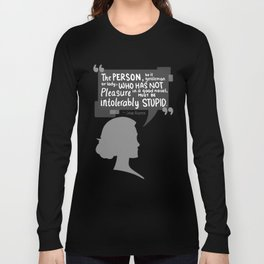 [Jane Austen] Book Lover Long Sleeve T-shirt