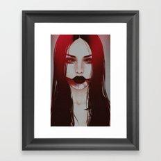 hellbent. Framed Art Print