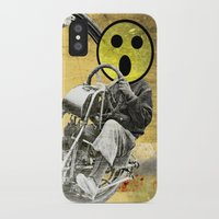 cycle iPhone & iPod Cases featuring Cycle by Trey Crim